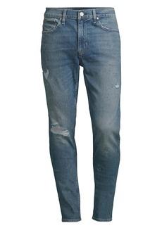 Hudson Jeans Zack Super Skinny Destroyed Jeans