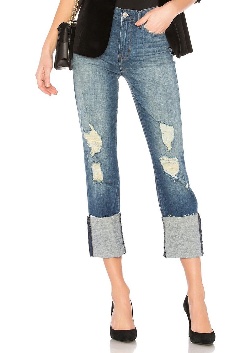 Hudson Jeans Zoeey Deep Cuff Crop Skinny