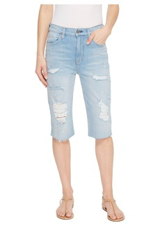 Hudson Jeans Zoeey High-Rise Cut Off Boyfriend Jean Shorts in Love St.