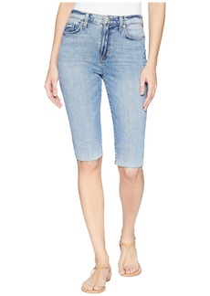 Hudson Jeans Zoeey High-Rise Cut Off Boyfriend Shorts in Just for Kicks