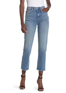 Hudson Jeans Zoeey High Rise Straight Crop Jeans