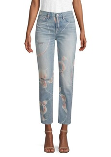 Zoeey In Bloom Distressed Jeans
