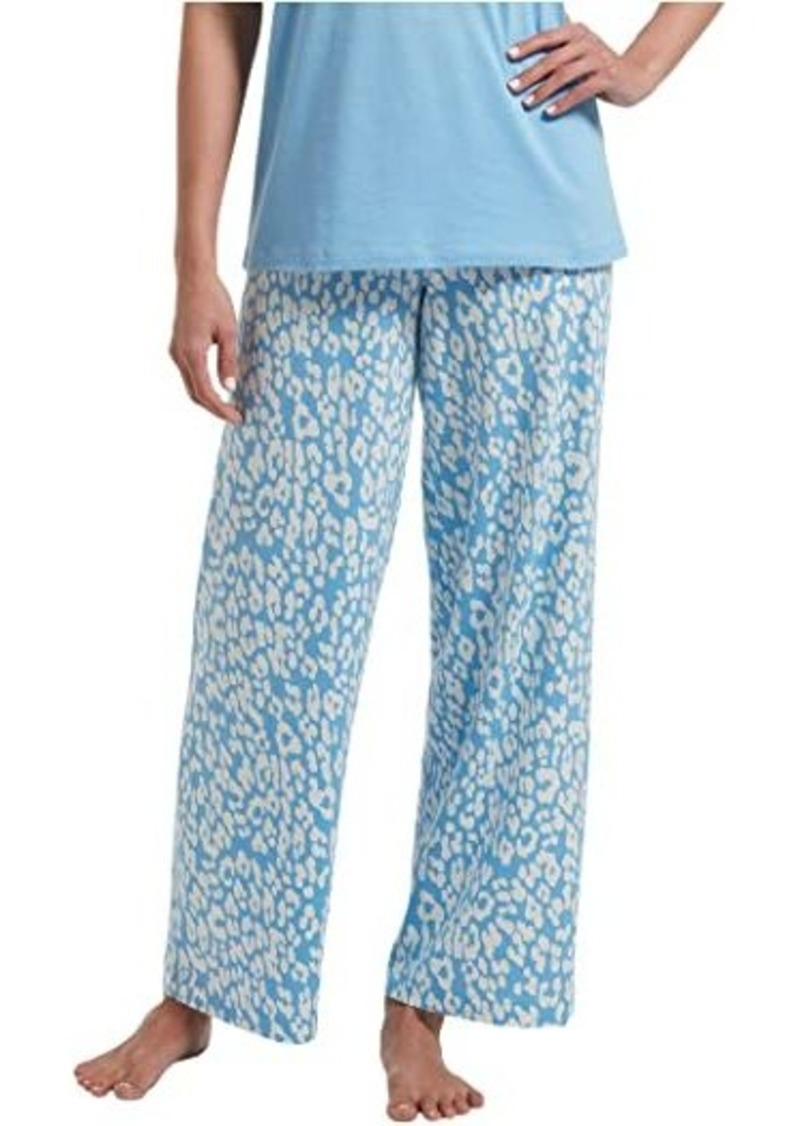 Hue Animal Shadow Long PJ Pants