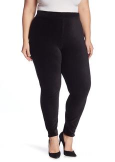Hue High Waist Corduroy Leggings (Plus Size)