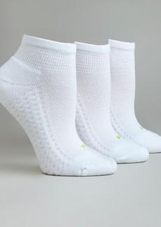 HUE + Air Cushion Low-Cut Socks 3-Pack