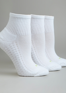 HUE + Air Cushion Mini Crew Socks 3-Pack