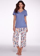 HUE + Flower Desire Knit Capri Pajama Pants