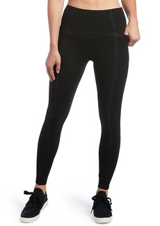 HUE + Plus Size Hold It High-Waist Cotton Leggings