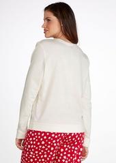 HUE + Penguin Knit Lounge Top