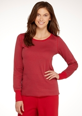 HUE + Reversible Knit Sleep Top