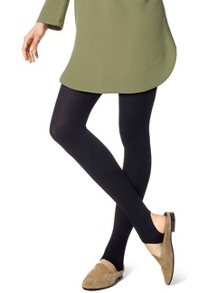 HUE + Stirrup Ribbed Tights