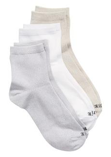 Hue 3-Pack Supersoft Crop Socks