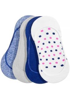 Hue Women's 4-Pk. Low-Cut Liner Socks
