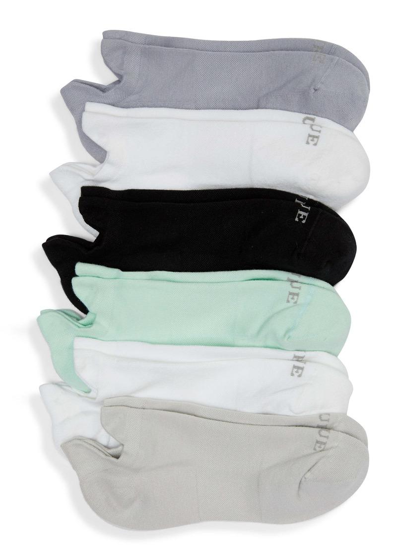 Hue 6-Pack Front & Back Tab Liner Socks