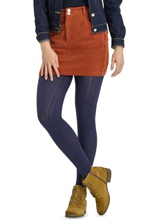 HUE Cable Pattern Tights