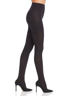 HUE Chevron Texture Tights