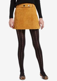 Hue Control-Top Eyelet Tights