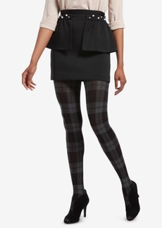 Hue Control-Top Plaid Tights