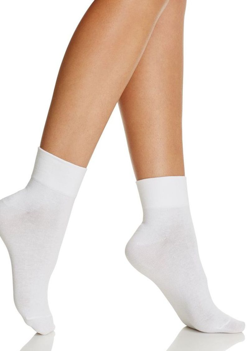 HUE Cotton-Blend Body Socks