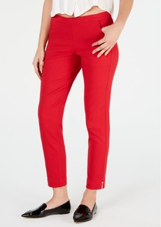 Hue Diamond-Texture Loafer Skimmer Leggings
