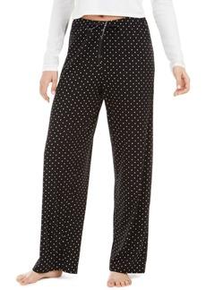 Hue Dot-Print Pajama Pants
