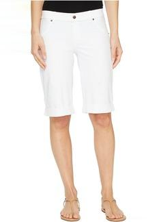 HUE Essential Denim Boyfriend Shorts