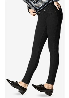 Hue Fleece-Lined Denim Leggings