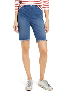 Hue High Waist Bermuda Shorts