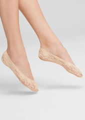 HUE Lace Perfect Edge Liner Socks