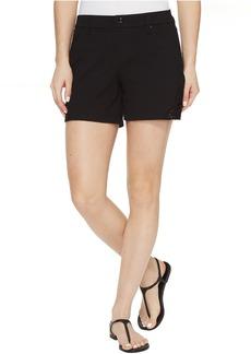 HUE Lace Trim Pique Shorts