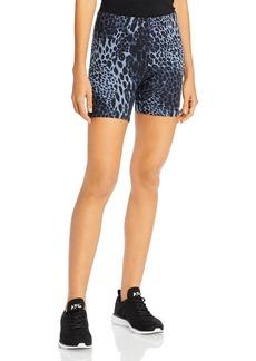 HUE Leopard Print Bike Shorts