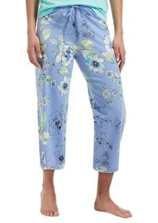 Hue Morning Floral Capri Pajama Pants