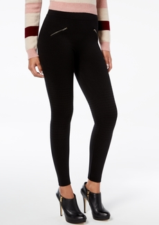 Hue Moto Brushed Seamless Leggings