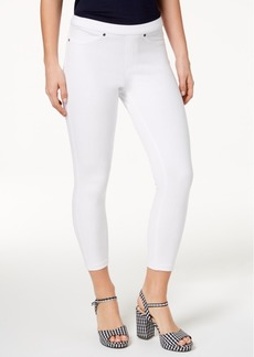 Hue Women's Original Denim Capri Leggings, Created for Macy's