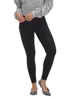 HUE Pique Tummy & Side Control High-Rise Leggings