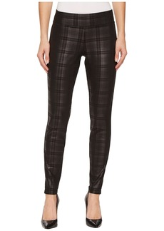 HUE Plaid Foil Leggings