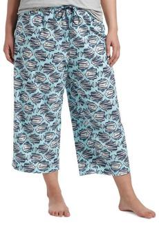 Hue Plus Kissing Fish Capri Sleep Pants
