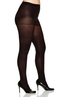 HUE Plus Opaque Control Top Tights #U4690