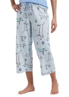 Hue Plus Pup Capri Pajama Pants
