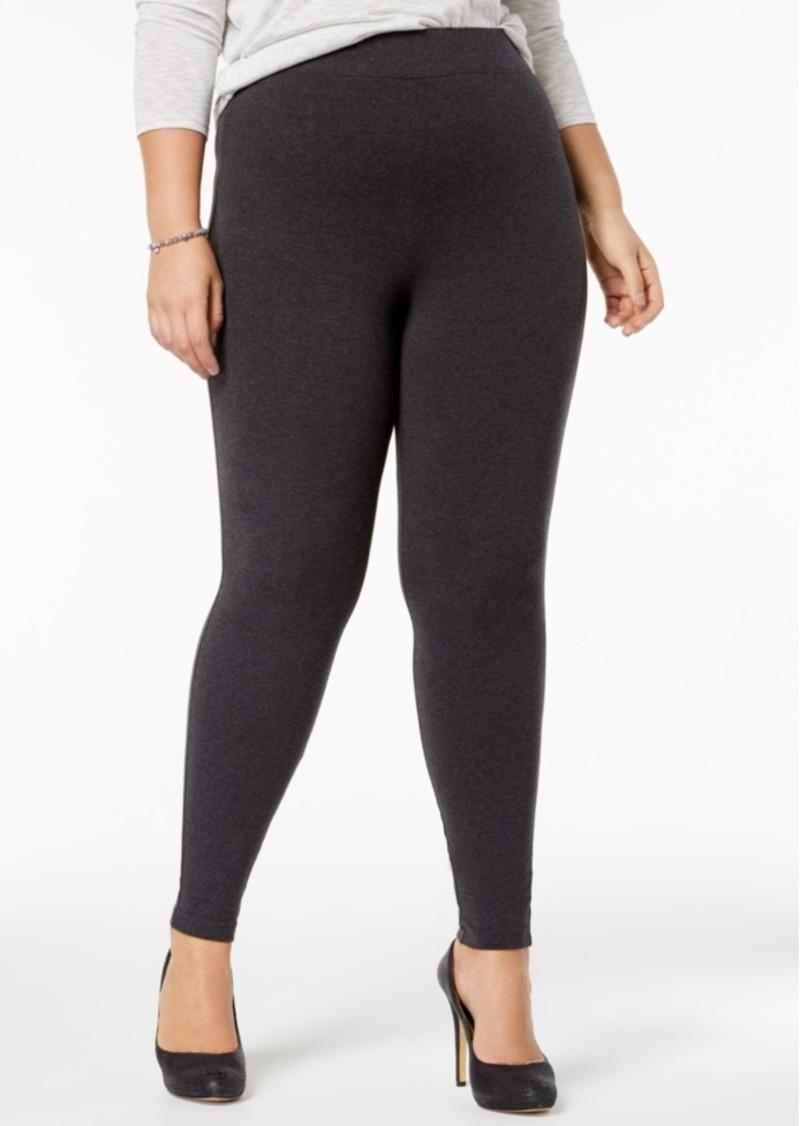 3d786b48da89c Hue Hue Women s Plus Size Cotton Leggings