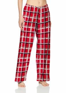 HUE Plus Size Women's Printed Knit Long Pajama Sleep Pant  2X