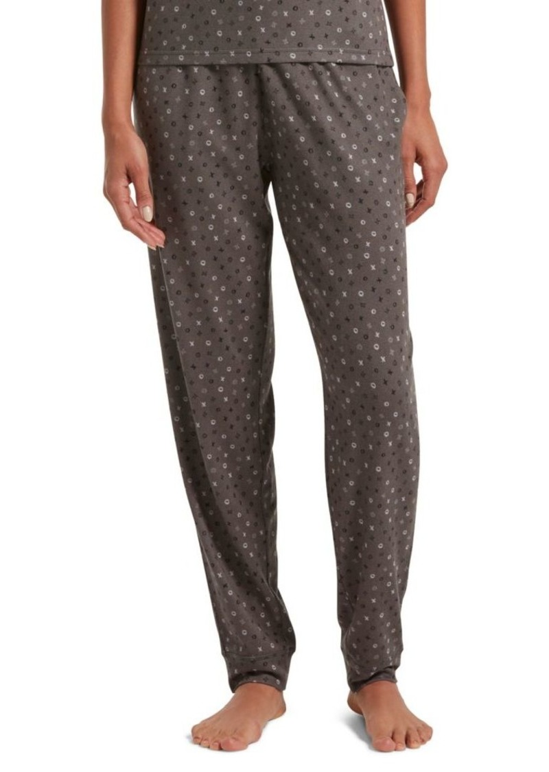 Hue Pop XO-Print Pajama Pants