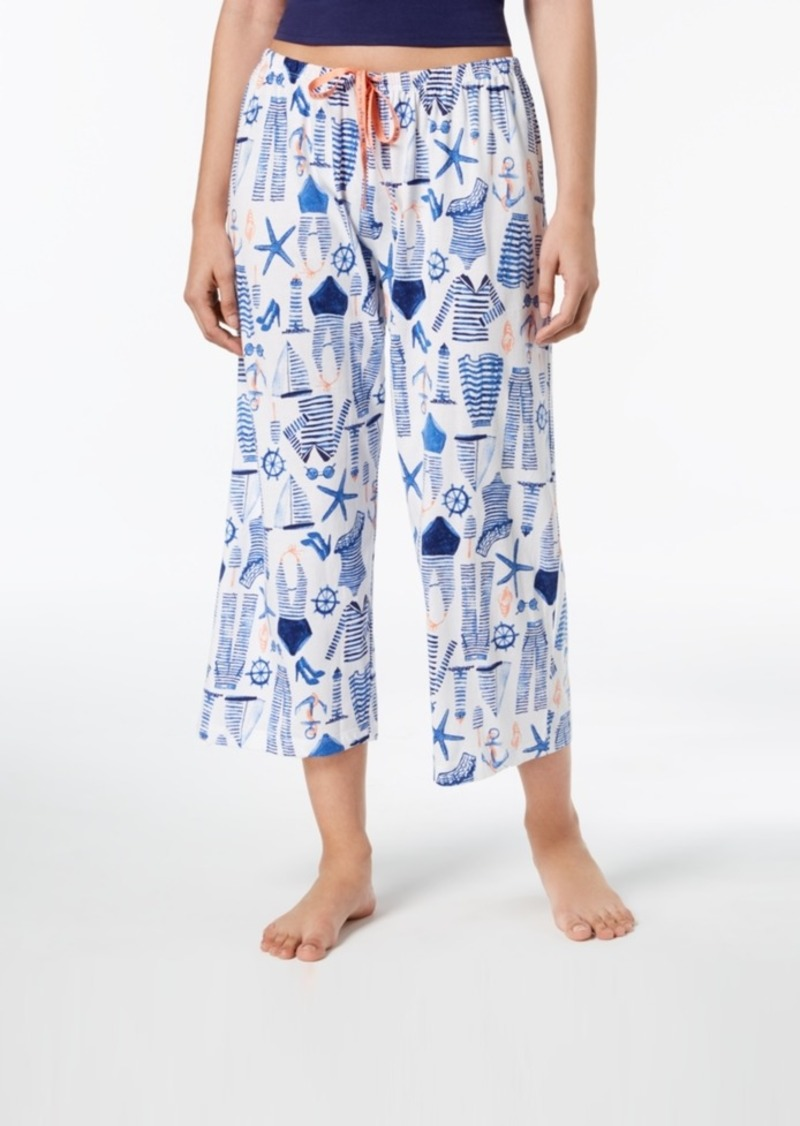 a648fee9f95 Hue Hue Printed Capri Pajama Pants