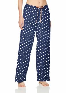 HUE Printed Knit Long Pajama Sleep Pant Women's