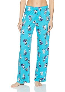 HUE Printed Knit Long Pajama Sleep Pant Women's