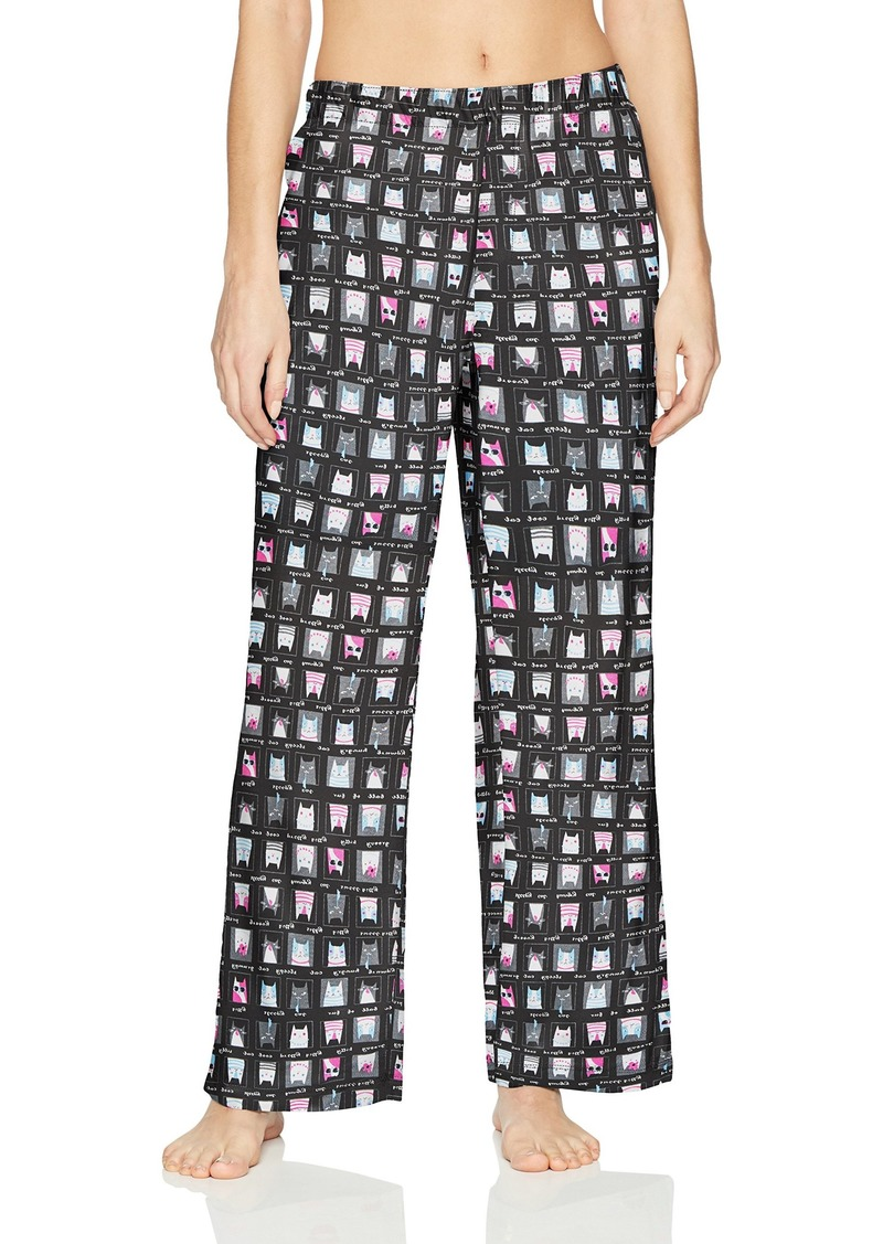 HUE Printed Knit Long Pajama Sleep Pant Women's  Extra Large