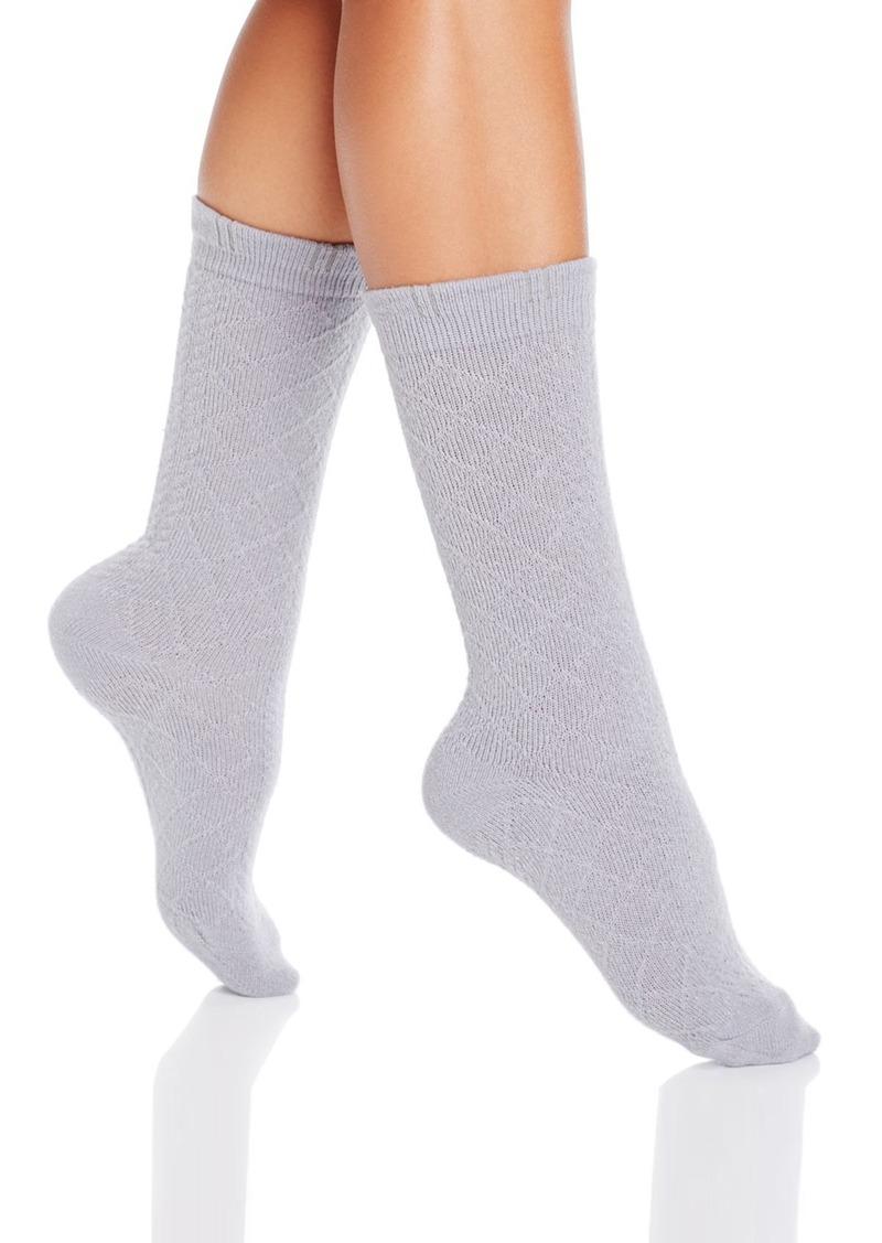 HUE Puckered Cuff Boot Socks