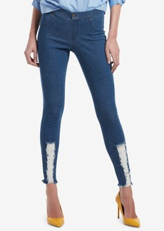Hue Ripped Denim Leggings
