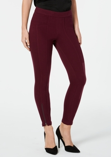 Hue Seamed Zip Skimmer Leggings