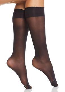 HUE Sheer Compression Knee Socks